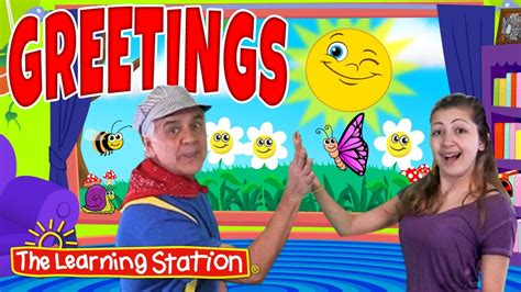 friendship station preschool greetings song morning song amp hello song for 495