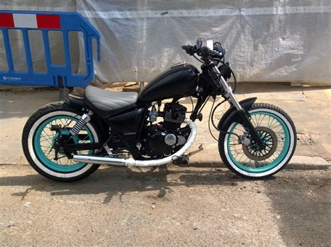 Suzuki Bobber Parts by Suzuki Gz125 Bobber Chopper 125 New Engine 1 Year