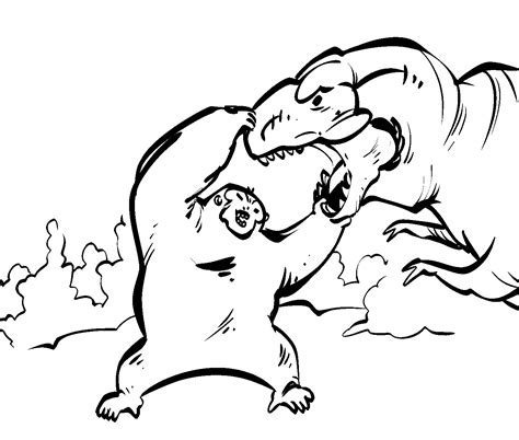 Kleurplaat Kong by King Kong Coloring Page Coloring Home