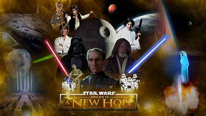 Wars Star Episode Wallpapers Iv Film Desktop