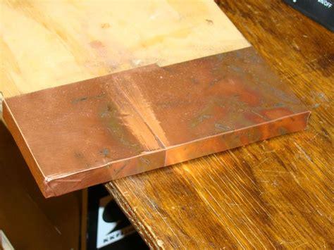 copper countertop    diy possibilities