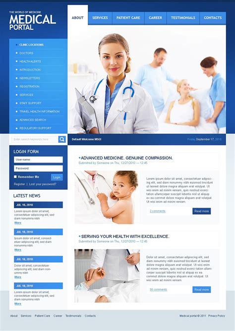 download template prtl 9 health drupal themes free premium templates