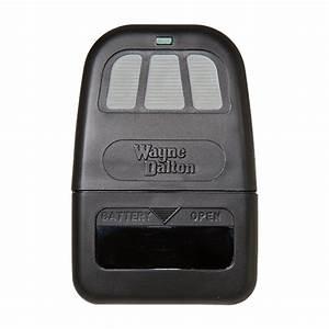 Wayne Dalton 309884 Quantum 3 Button Visor Remote