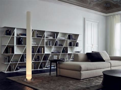 librerie poliform outlet libreria a giorno in corian 174 web by poliform