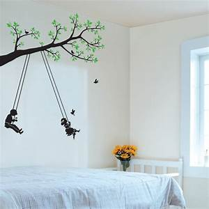 Tree and Swing Wall Art Stickers will belong to you, your