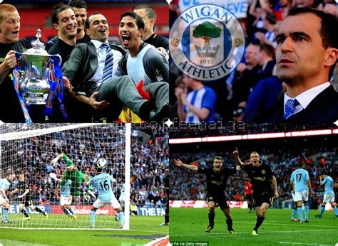 BCN: Wigan win FA Cup with 1-0 Victory over Man City