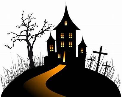 Halloween Castle Clip Creepy Haunted Clipart Yopriceville