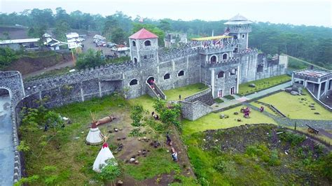 lost world castle  stonehenge yogyakarta wisata