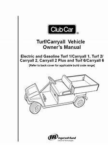 2010 - Club Car - Turf - Carryall - Om