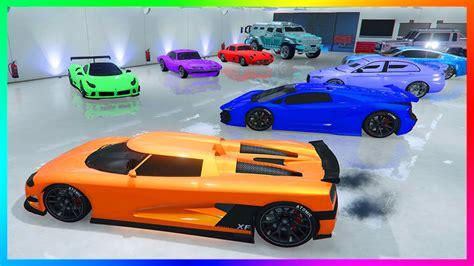 Mrbossftw Ultimate Gta Online Garage Tour 3 Full Two Car