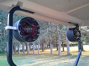Custom Golf Cart Speakers Ez Go Club Car Yamaha Radio