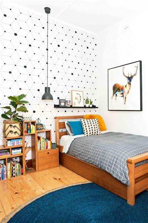 papier peint chambre ado gar輟n 1001 idées pour une chambre d 39 ado créative et fonctionnelle