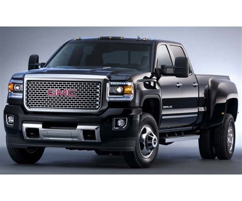 Gmc Trucks by 2017 Gmc 3500 Available With Two Powertrain Options