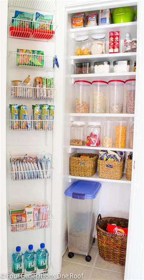 organization ideas for kitchen pantry 36 tips for getting organized in 2016 four generations 7213