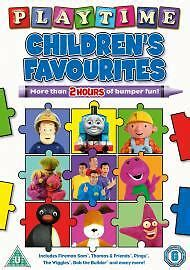 children s favourites playtime dvd animation original uk