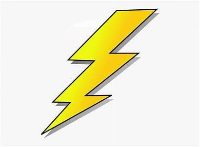Lightening Lightning Cartoon Clip Vector Bolt Clkercom