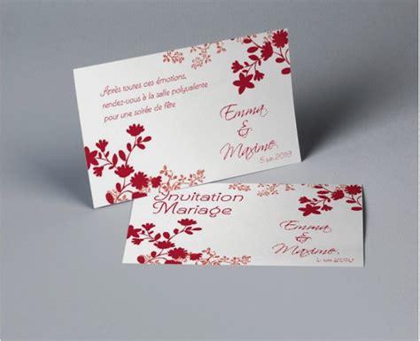 carte d invitation mariage meilleur carte remerciement invitation mariage