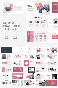 Clean Minimal Presentation Powerpoint Template  75798