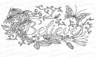 Inspirational Adult Coloring Pages