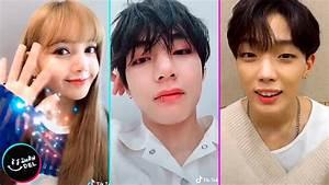 Idols De Kpop Usando Tik Tok  2