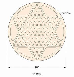 woodworkers journal small shop cnc routing make a With chinese checkers board template