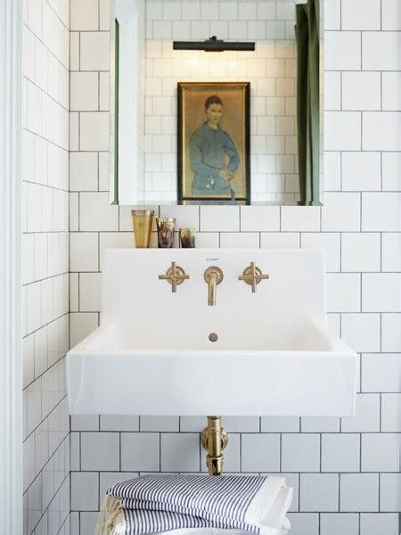 floating sink modern bathroom house home