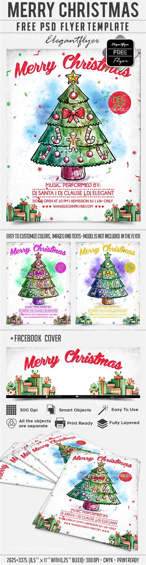 christmas tree flyer template free psd flyer design 2016 free flyer templates christmas