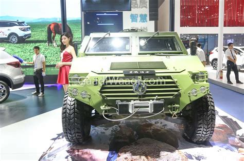 Hummer-like Dongfeng 4x4 Combat Vehicle Showcased at 2018 CMDS