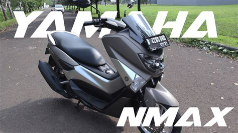 Nmax 2018 Matte Grey by Yamaha Nmax Review Indonesia