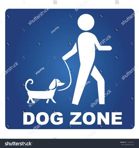 dog zone stock vector  shutterstock