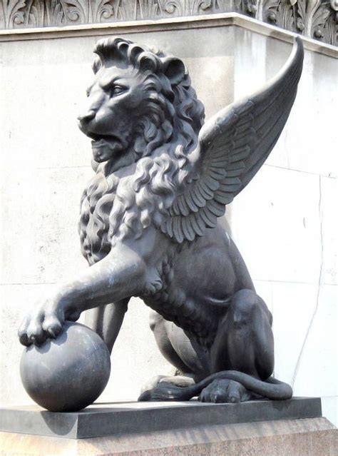 winged lion painting pinterest lions tattoo