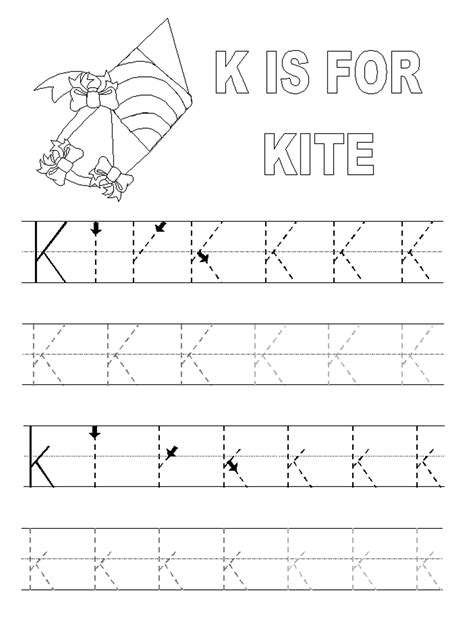 Letter Tracing Worksheets Free  Free Printable Alphabet Letter Tracing Worksheets K5