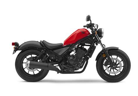 new honda rebel 500 rebel 300 models debut