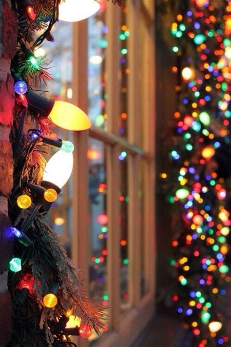 christmas lights around the window pictures photos and