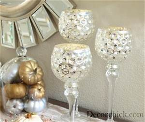 mercury glass candle holder decorchick With best brand of paint for kitchen cabinets with wedding glass candle holders