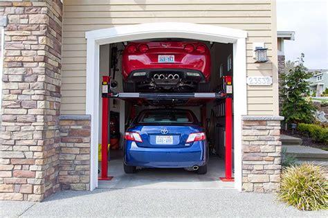 Car Lift Garage  4 Post Car Lift