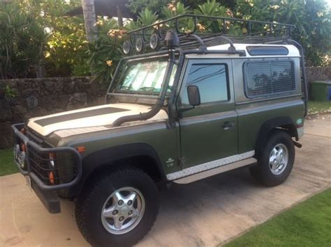 1997 land rover defender sell used 1997 land rover defender in wahiawa hawaii