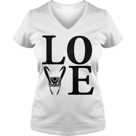 love loki silhouette shirt hoodie sweater   neck  shirt