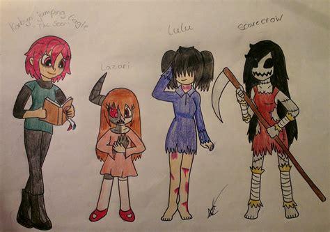 Creepypasta Characters 4 By Nayacat On Deviantart