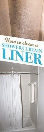 clean  shower curtain liner simple green