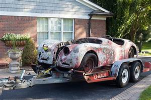 Voiture Sortie De Grange : une jaguar xk120 sortie de grange apr s 48 ans d 39 immobilisation voitures anciennes auto ~ Gottalentnigeria.com Avis de Voitures