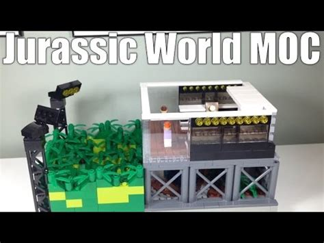 micro lego jurassic world moc daily vlog  dec
