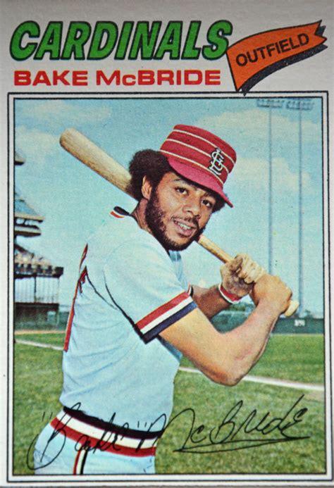 Baseball Trading Card 1977 Topps Baseball Cards The Obsessive Neurotic Gardener