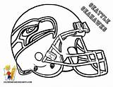 Coloring Football Pages Printable Popular sketch template