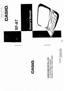 Casio Sfa7