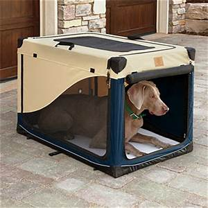 Travel dog crate packable nylon dog crate orvis uk for Nylon dog crate