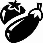 Vegetables Icon Svg Onlinewebfonts Font Eggplant Cdr