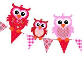 kinderzimmer len studio poppy tapetenwimpeln mit eulen rot rosa 220cm bei fantasyroom kaufen