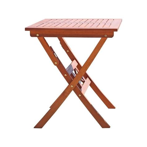 wood folding bistro table v03