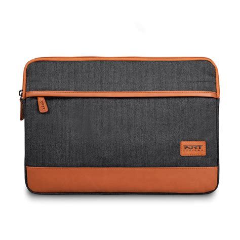 housse ordinateur portable 15 6 port designs bahia sleeve 15 quot noir sac sacoche housse port designs sur ldlc
